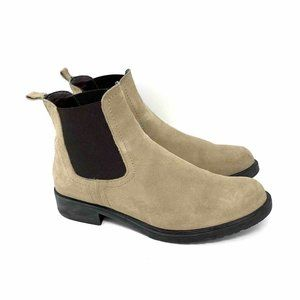 The Flexx Ankle Boots Beige Brown Leather 7.5